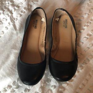 Black Missimo slip Ins - size 8